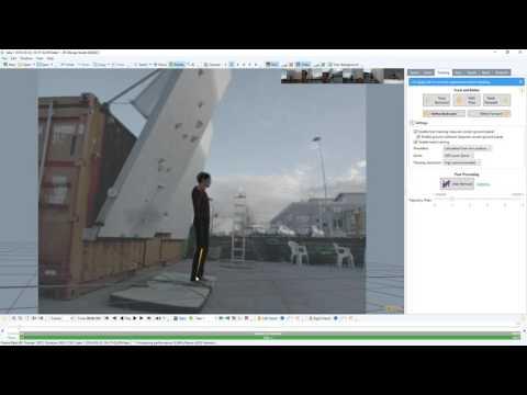 Copenhagen Boulders - Raw mocap data tracking (preview)