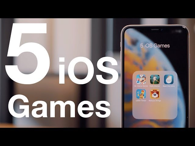 Five iOS Games Worth Checking Out - July 2019