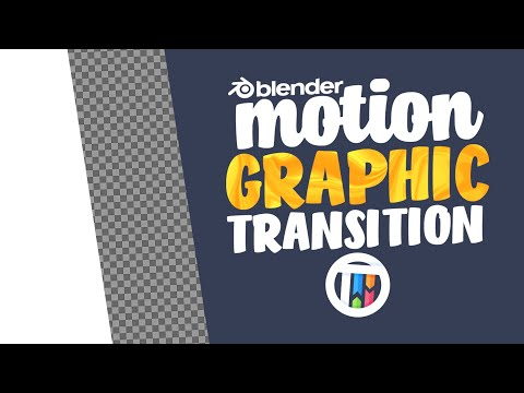 Motion Graphic Transitions (Holdout Shader) - BLENDER 2.81 EEVEE TUTORIAL thumbnail