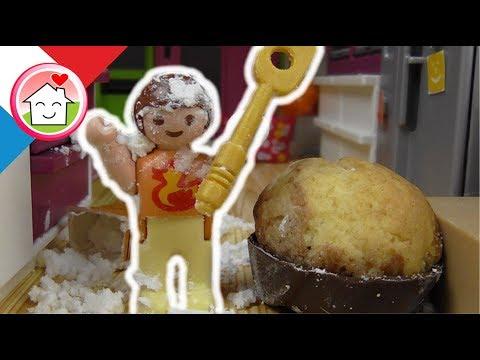 Playmobil en français faire des gateaux - La famille Hauser