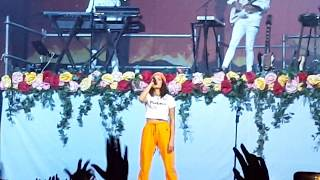 Halsey - 100 Letters 4K Live @ Stadium 22.08.17 Moscow