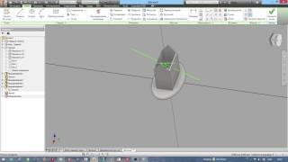 """Урок 10:  Домик  (видеокурс """"Autodesk Inventor для детей"""")"""