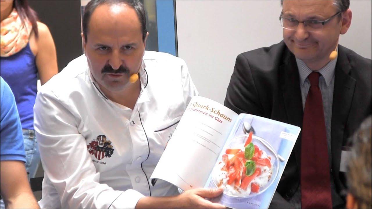 """""""Wissen was bei Diabetes zählt: Gesünder unter 7"""" in Saarbrücken mit Johann Lafer"""