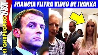 Presidente francés humilla a hija de Trump en el G20
