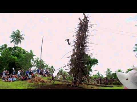 Bungee Gone Wrong Pentecost Vanuatu