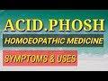 ACID PHOSH HOMOEOPATHIC MEDICINE