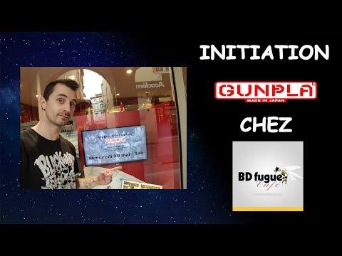 Initiation Gunpla chez BDFugue Café Toulouse.