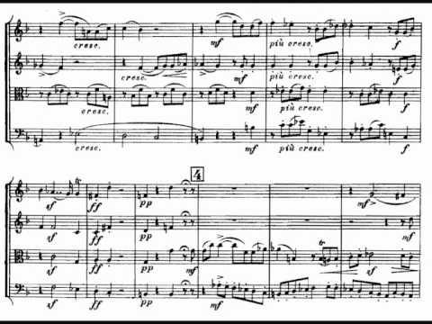 Glinka, String Quartet In F Major (1829) - I. Allegro Spiritoso