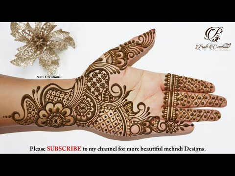 Mehndi Designs Front Hand Arabic Mehendi Designs Mehandi Ka Design Simple Mendini Design Youtube