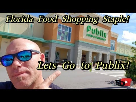 Florida Food Shopping Staple! Let's Go To Publix!