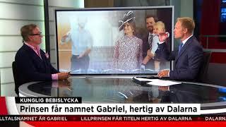 Det här är historiken kring lillprinsens namn - Nyheterna (TV4)