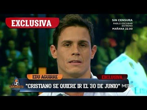 """¡EXCLUSIVA MUNDIAL! """"Cristiano SE QUIERE IR del Madrid el 30 de junio"""", EL BOMBAZO de Edu Aguirre"""
