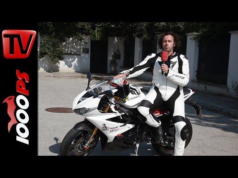 Dainese Lederkombi Laguna Seca, Torque RS IN, Full Metal RS, AGV Corsa Wild Rodeo