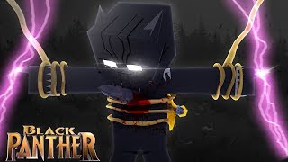 Minecraft BLACK PANTHER - IS BLACK PANTHER DEAD????