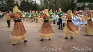 Концерт посвященный Дню Республики в Горловке.