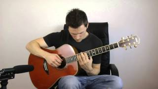 Eric Clapton - Wonderful Tonight - Fingerstyle Guitar / Acoustic Interpretation