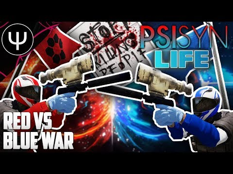 ARMA 3: PsiSyn Life — Red vs Blue WAR!