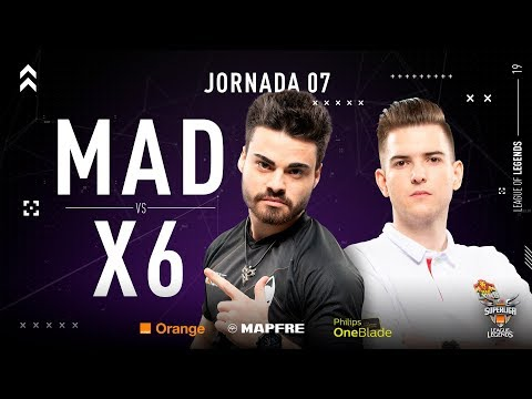 MAD LIONS E.C. VS X6TENCE | Superliga Orange League of Legends | Jornada 07 | Temporada 2019 thumbnail