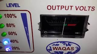 Desi UPS Setting Control Kit Ampere Volts Battery Full Low Overload Urdu Hindi