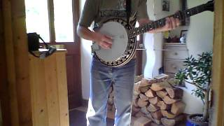 Deering Boston 6 String Banjo B6 filmed with Zoom Q3