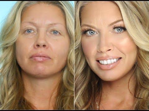Transformation Makeup on Middle Aged/ Mature Skin | Julia Dantas + Crystal Andrus