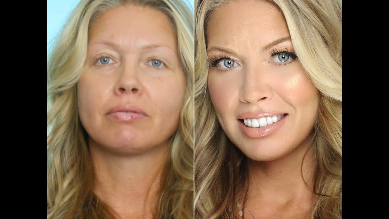 Transformation Makeup on Middle Aged/ Mature Skin  Julia Dantas + Crystal  Andrus