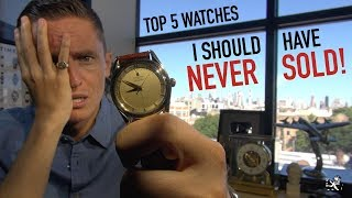 I REALLY MESSED UP! - 5 Watches I Should Have Never Sold + Unboxing My First Genta Watch