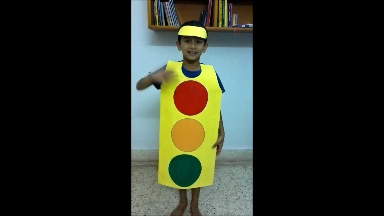 sc 1 st  YouTube : traffic light costume  - Germanpascual.Com