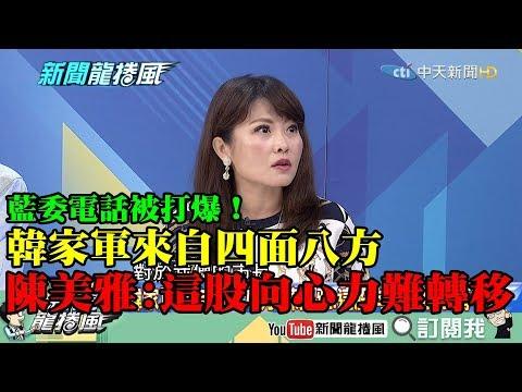 【精彩】藍委電話被打爆!韓家軍來自四面八方 陳美雅:這股向心力很難轉移!