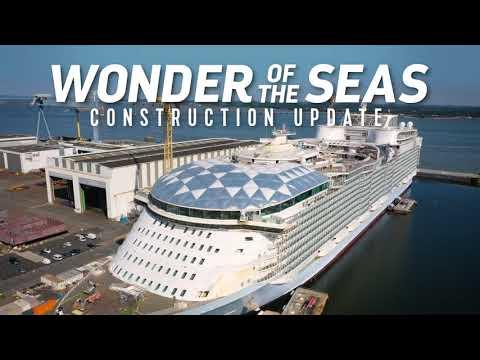 Wonder of the Seas prepares for 2022 debut
