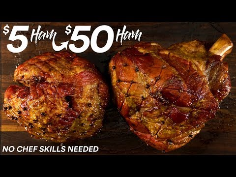 I turned a $5 Ham into a $50 Masterpiece | GugaFoods