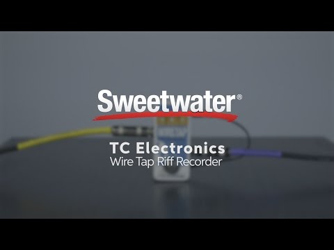 TC Electronic Wiretap Riff Recorder Pedal Demo by Sweetwater