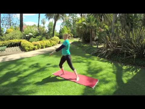 Dru Yoga - Quick energy boost and relax with Angela Baker