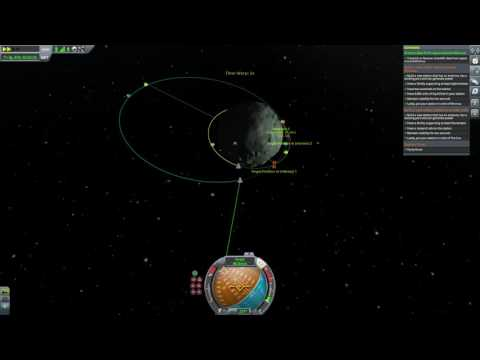 Kerbal Space Program - crew transfer and refueling