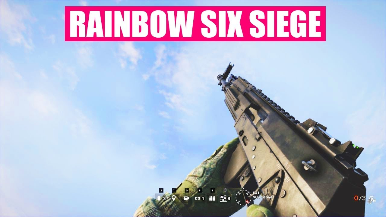 Rainbow Six Siege Gun Sounds of All Weapons