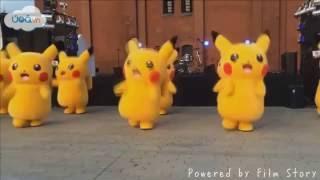 Vũ điệu Pikachu cực dễ thương ^^