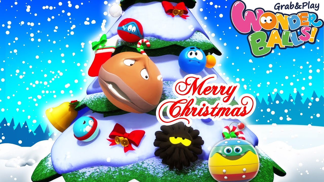 Christmas Celebration Cartoon Images.Christmas Celebration With Wonder Balls Christmas Carols Funny Cartoon Compilation For Kids