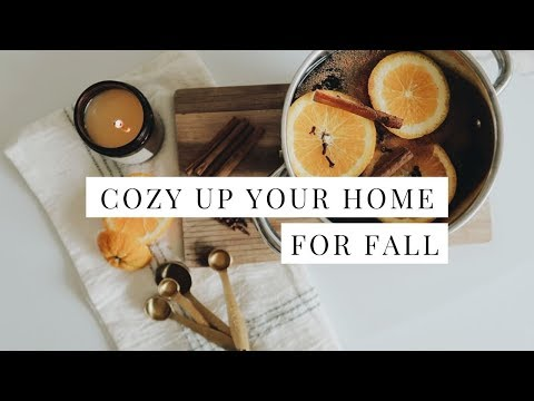 COZY UP YOUR HOME FOR FALL! | Simple Autumn Home Decor