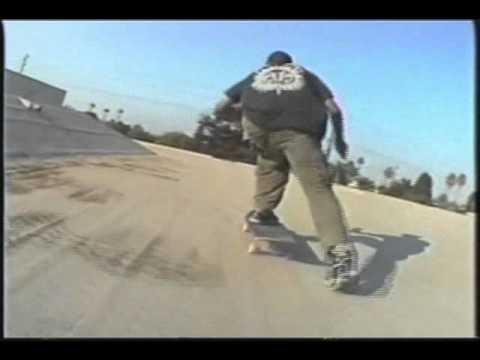 La Quinta High School Roof Skatebaording 1990