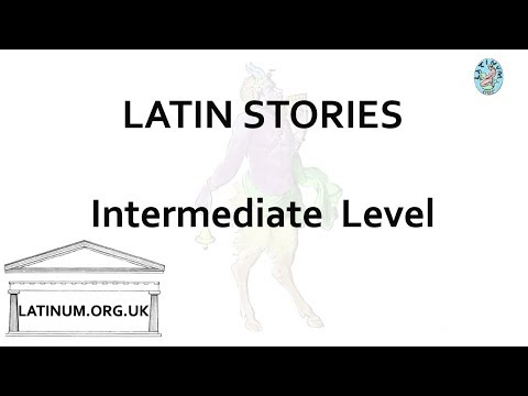 17 Latin Audiobook with Text  read aloud for Intermediate Students