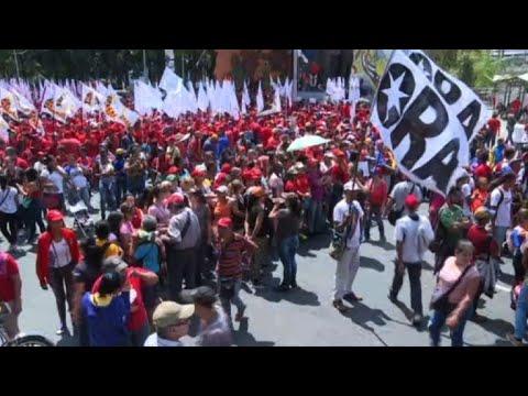 Venezuela : manifestation en soutien à Maduro à Caracas । AFP Images