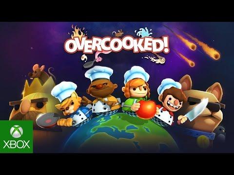 Overcooked Launch Trailer