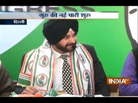 After Joining Congress, Navjot Singh Sidhu Launches Attack on BJP