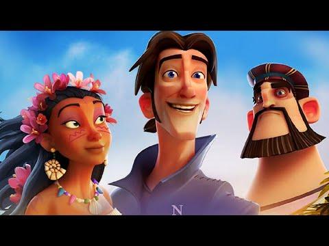 Кругосветное путешествие Элькано и Магеллана -  Полнометражный мультфильм - Видео онлайн