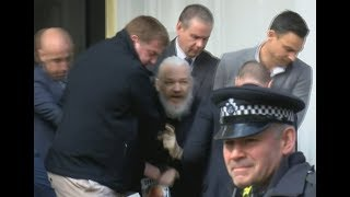 Julian Assange, arrested