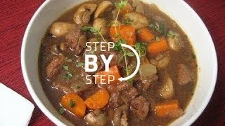 Guinness Beef Stew, Beef And Guinness Stew, Beef And Guinness Irish Stew Recipe