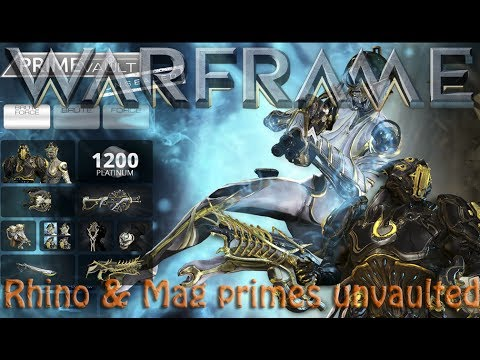 Warframe Hotfix 20 7 4 Rhino Mag Primes Unvaulted By Originalwickedfun For a limited time, you can purchase. cyberspaceandtime com