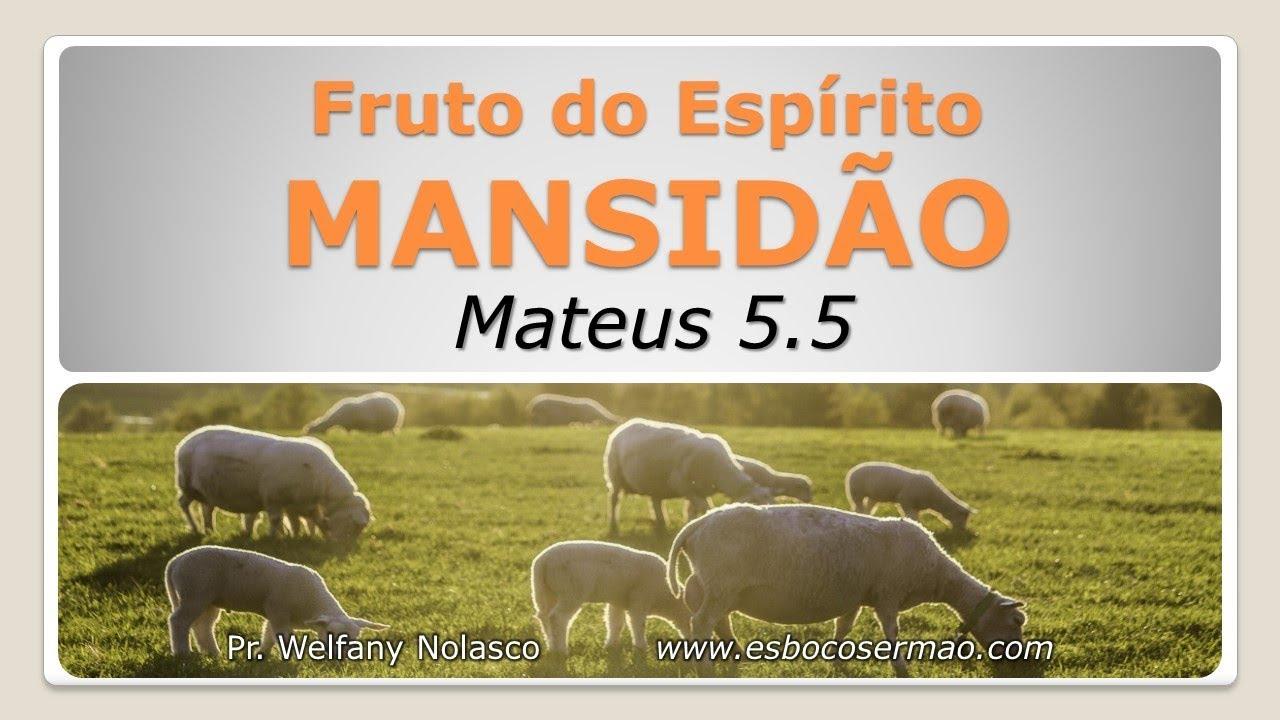 Extremamente O Fruto do Espírito: MANSIDÃO - YouTube KL98