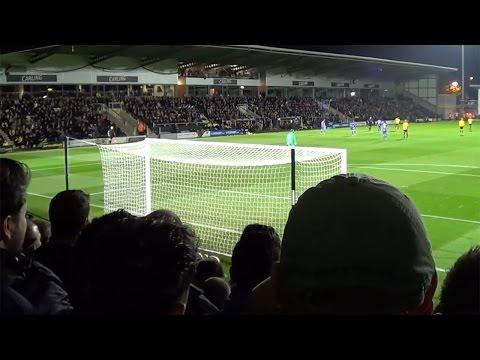 Birmingham fans at Burton Albion | Davo's Diary