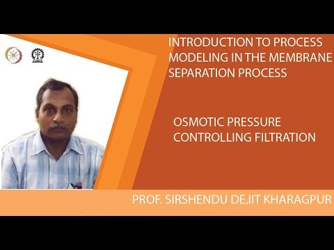 Osmotic Pressure Controlling Filtration